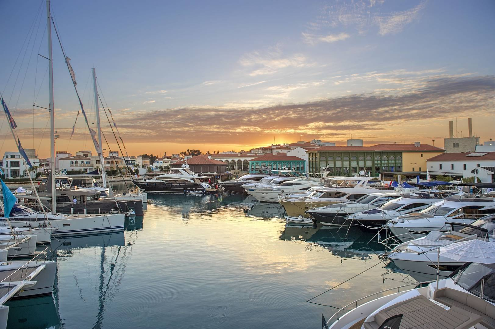 The Limassol Marina is claiming the Marina of the Year 2020 award