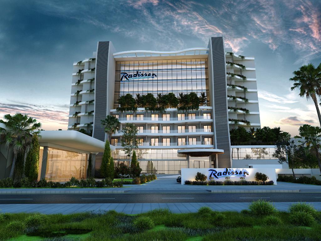 New luxury 5-star hotel Radisson Beach Resort in Larnaca