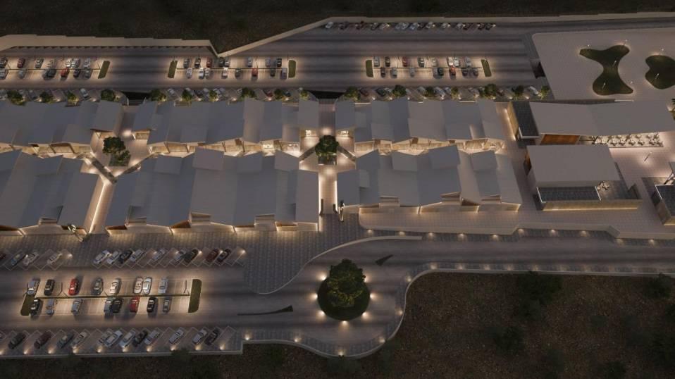 На Кипре возобновилось строительство дисконтной деревни Neo Plaza