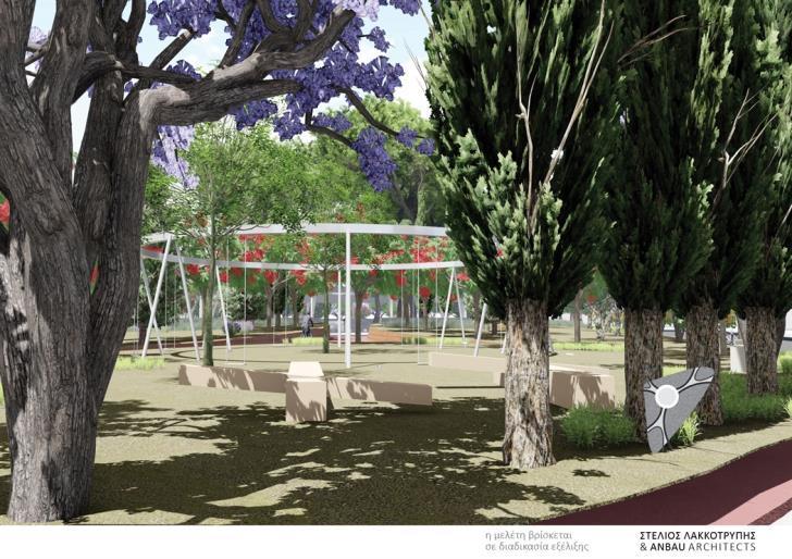 Каким будет новый парк Лимассола в районе Закаки?