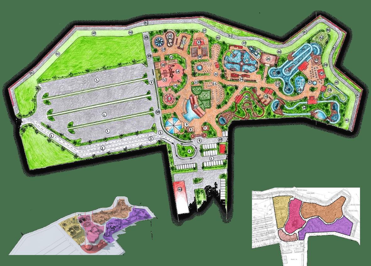 Строительство грандиозного парка Mythos в районе Пафоса откладывается на неопределённый срок