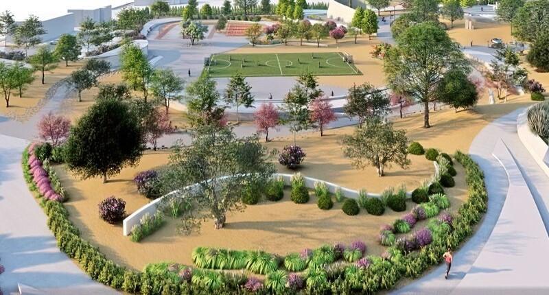Осенью в Пафосе откроется «Парк красок»
