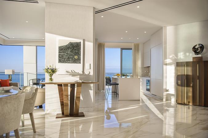 Компания Cybarco презентовала первую выставочную квартиру в проекте Trilogy