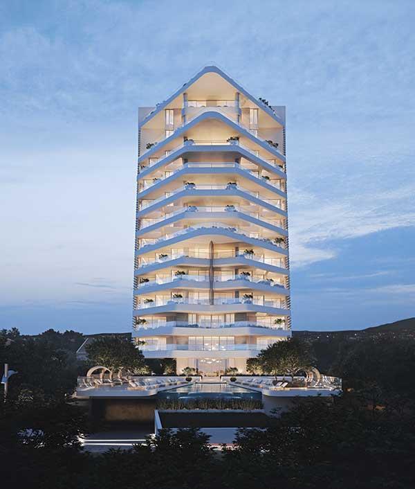 Собственники апартаментов в 180° Limassol Residence получат ключи в ноябре 2021 года