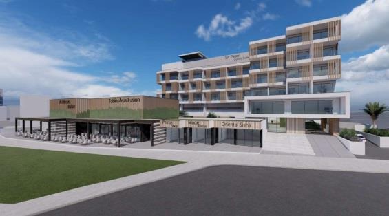 Побережье курортной Айя-Напы продолжает застраиваться отелями