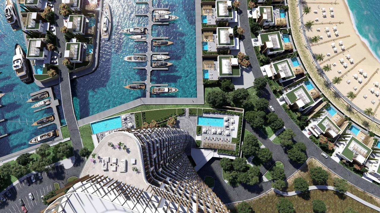 Эксклюзивный курортно-жилой комплекс Ayia Napa Marina вступил в очередную стадию реализации