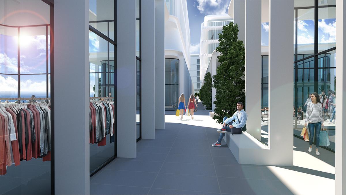 В Лимассоле возведут крупномасштабный офисно-жилой комплекс
