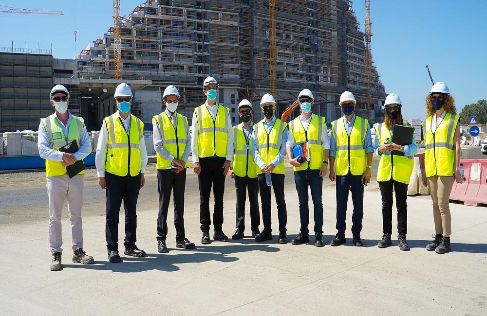 Заместитель министра туризма Кипра посетил с официальным визитом строительную площадку City of Dreams Mediterranean