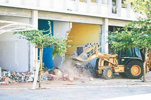 В Никосии началась модернизация старого муниципального рынка