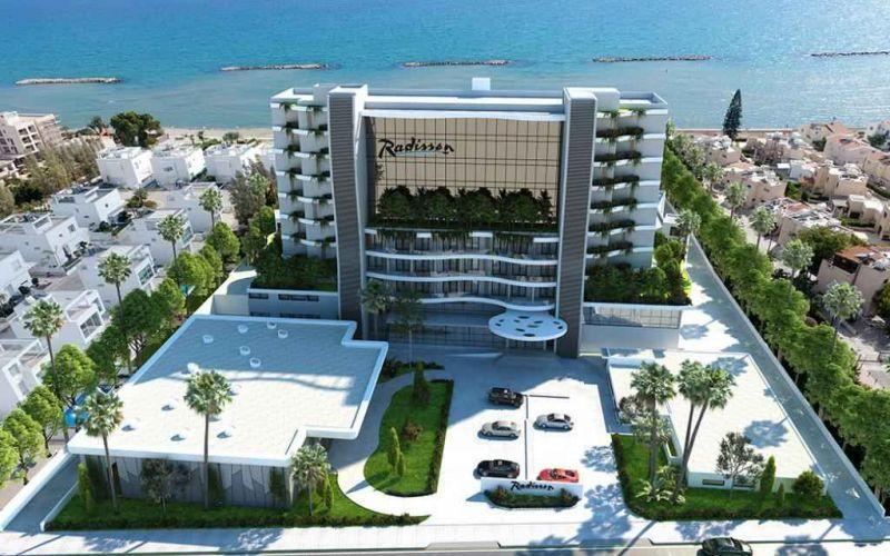 В ноябре в Ларнаке откроется новая 5-звёздочная гостиница Radisson Beach Resort