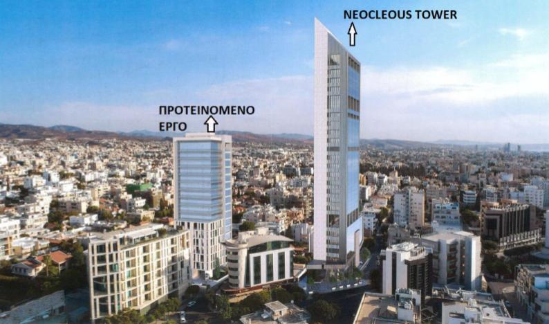 В Лимассоле возведут очередной небоскрёб