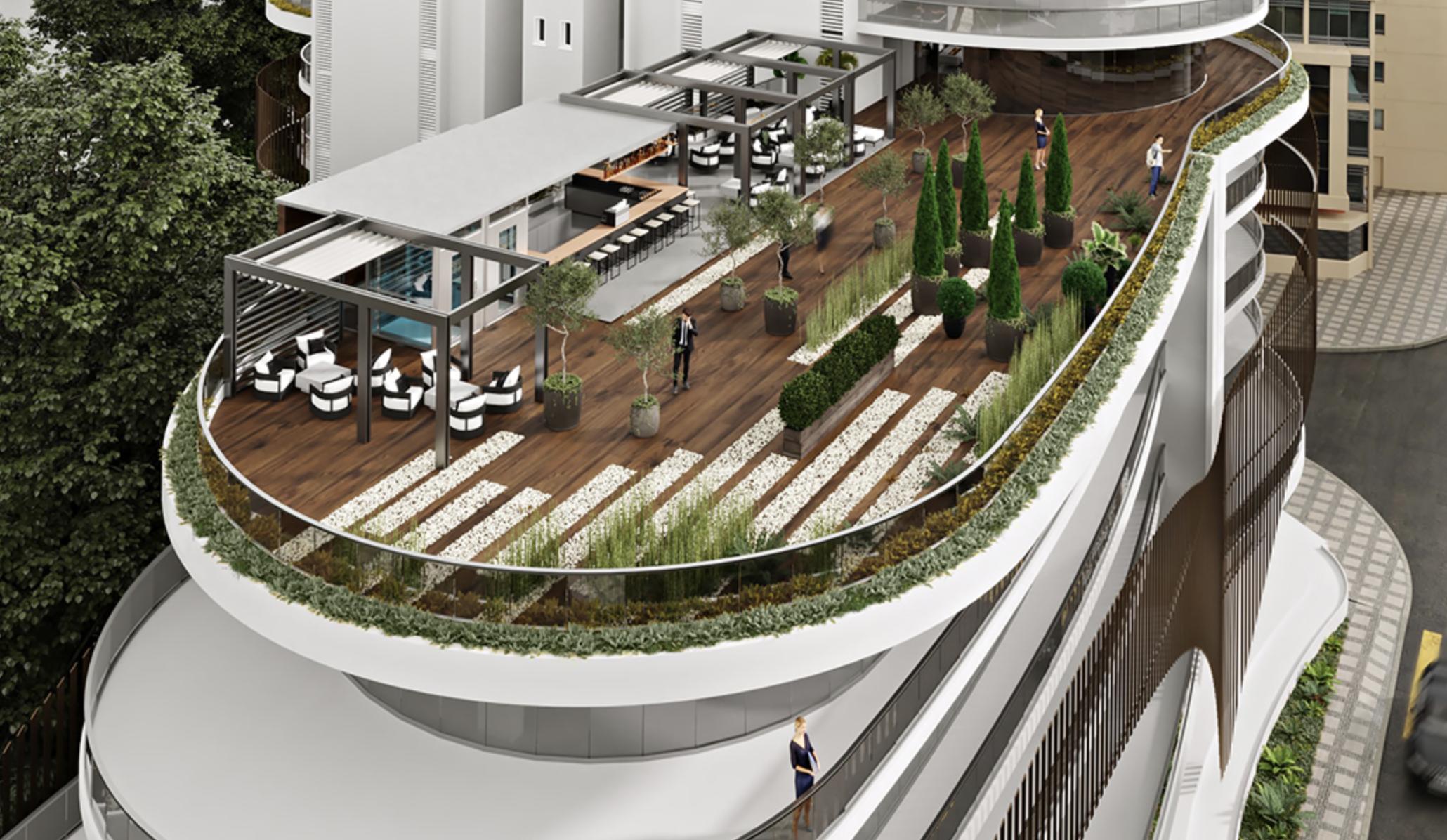 В Никосии завершается строительство нового бизнес-центра