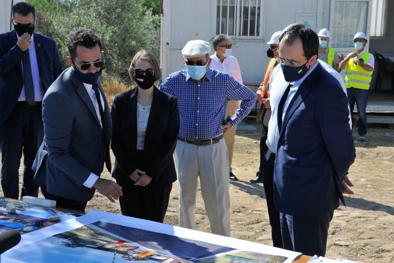 Строительную площадку учебного центра CYCLOPS посетили высокопоставленные чиновники