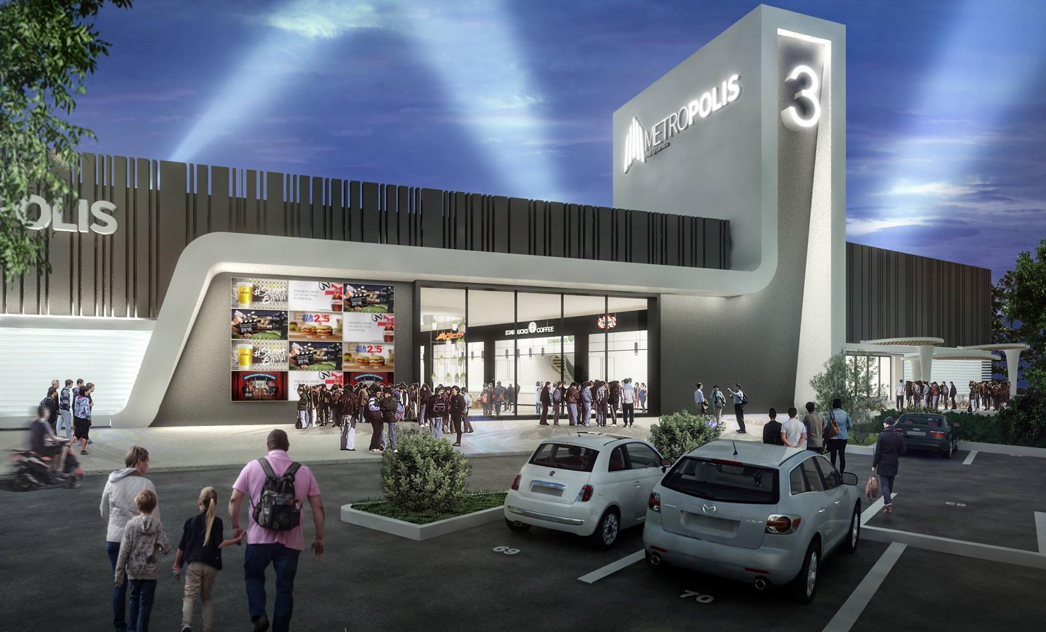 Стала известна дата официального открытия Metropolis Mall в Ларнаке