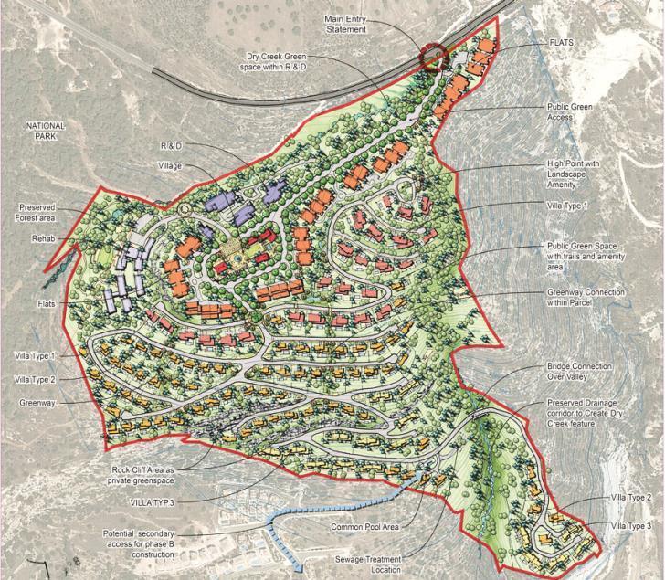 Департамент по охране окружающей среды Кипра одобрил крупномасштабный проект застройки в пригороде Пафоса