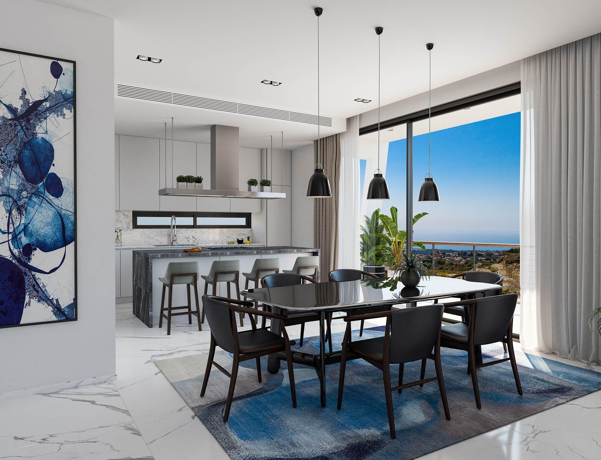 В Пафосе началось строительство элитного жилого комплекса Lofos Heights
