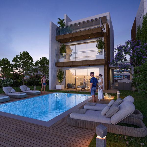В Ларнаке появится комплекс элитных апартаментов и вилл