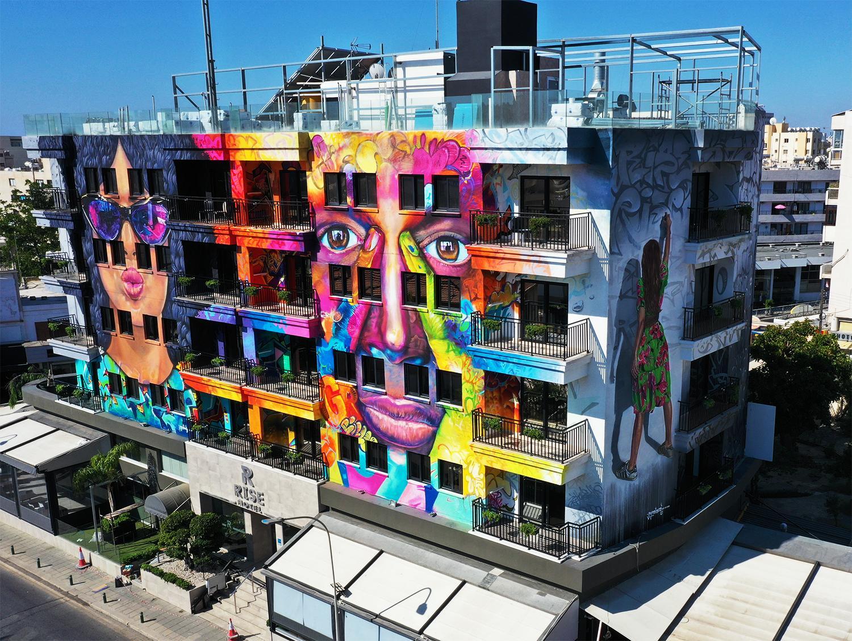 В июле открылся первый graffiti hotel на Кипре