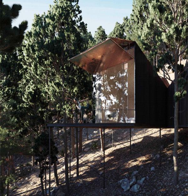 В Платресе построят новый гостиничный комплекс Tree Hotel