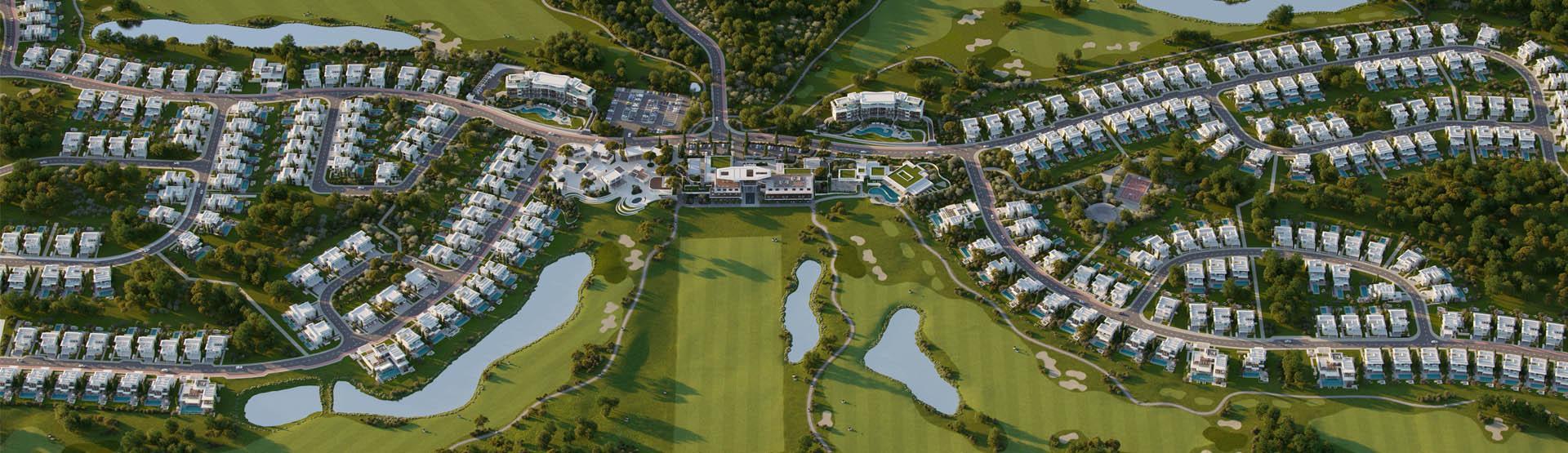 Виллы, гольф и море: в Лимассоле началось строительство комплекса Limassol Greens