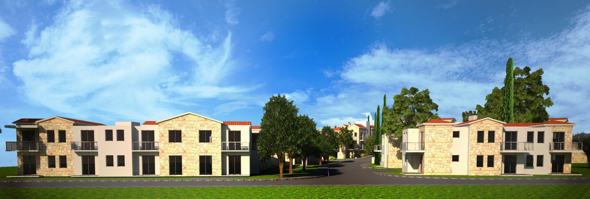 На Кипре началось строительство первой деревни-курорта для пенсионеров