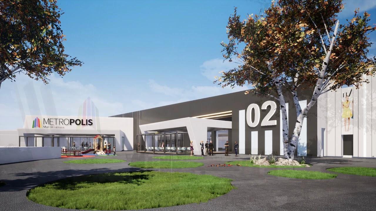 Открытие Metropolis Mall в Ларнаке снова переносится