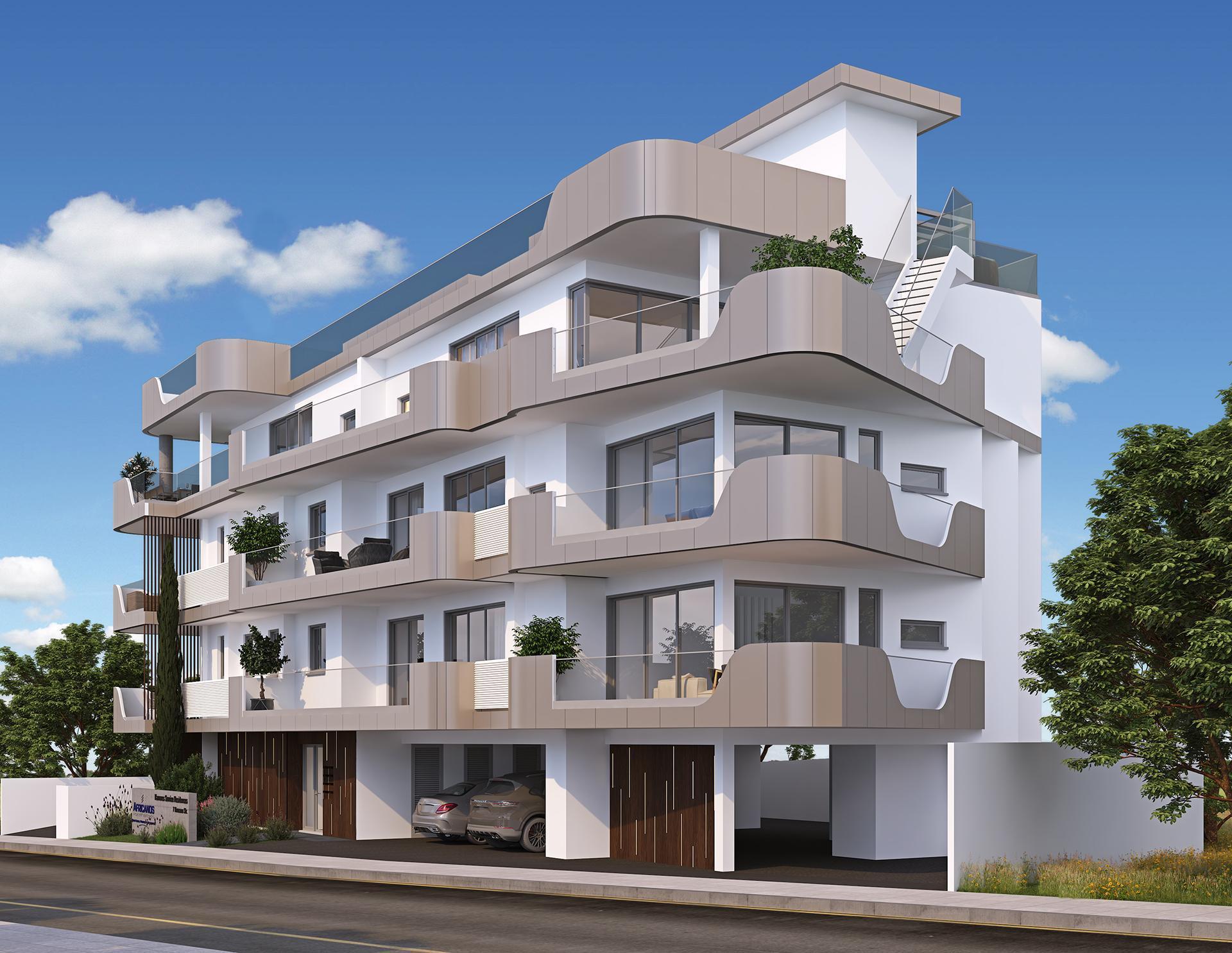 В Ларнаке началось строительство Kamares Sunrise Residences