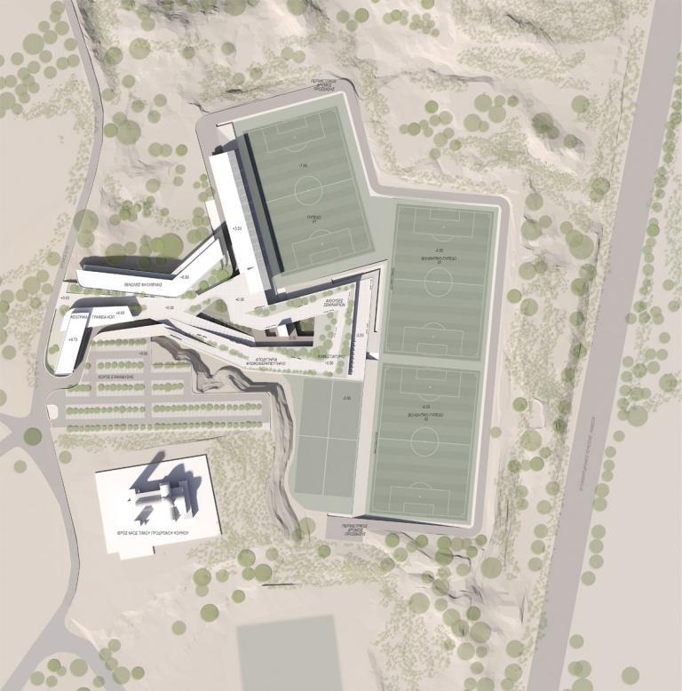 На Кипре построят новый спортивный центр для Кипрской федерации футбола