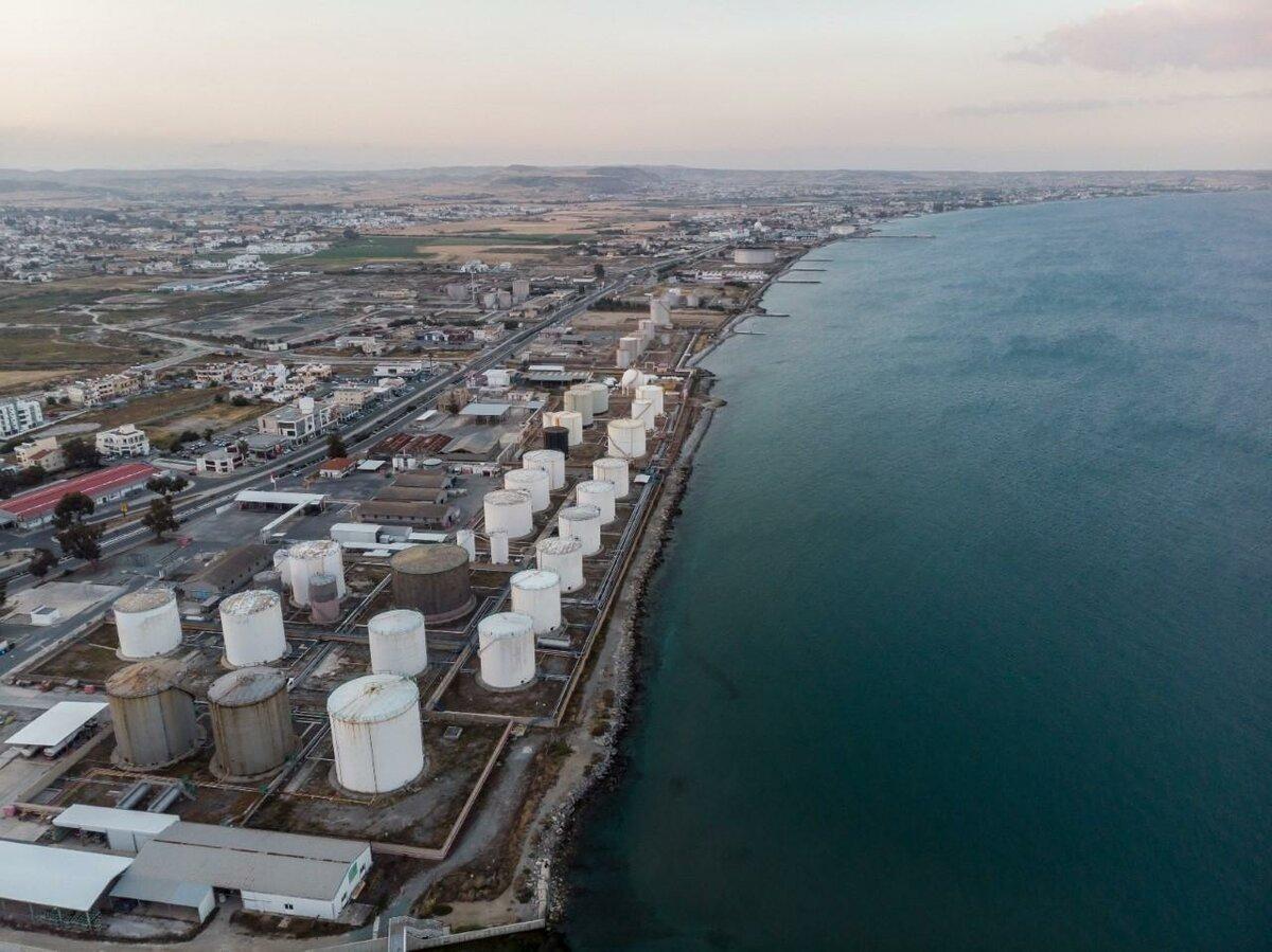 У муниципалитета Ларнаки грандиозные планы на территорию бывших нефтехранилищ
