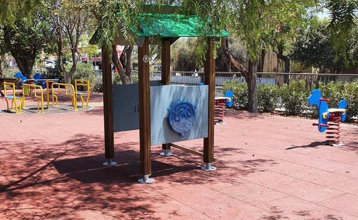 В Лимассоле открылась инклюзивная площадка для детей