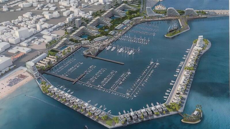 Новая марина Ларнаки – важный проект для развития города