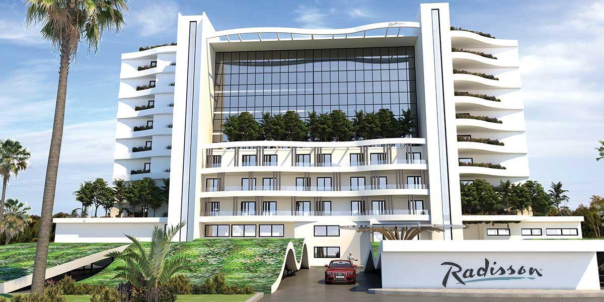 В Ларнаке завершается строительство отеля Radisson Larnaca Beach Resort