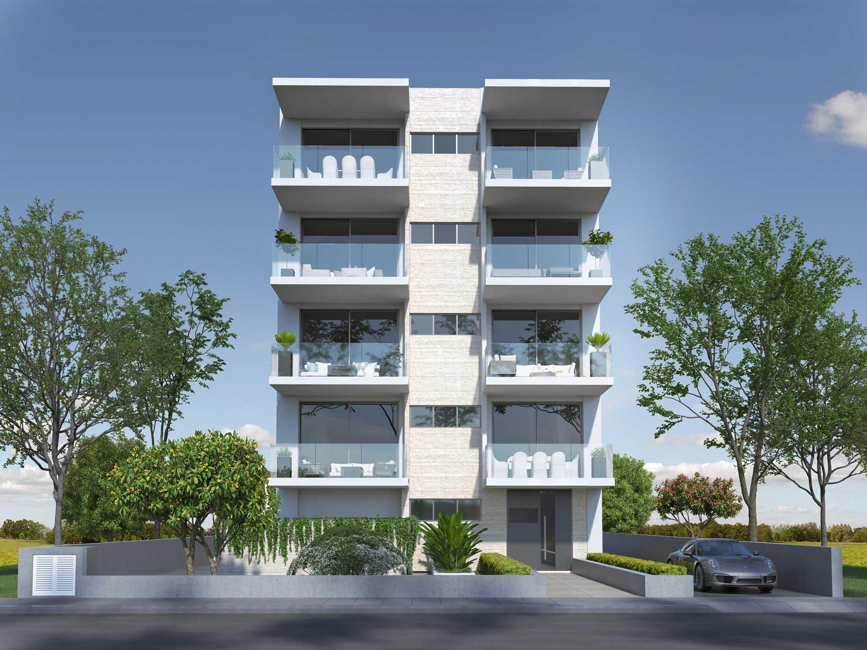 В Никосии сдан в эксплуатацию новый жилой комплекс под названием Dafni